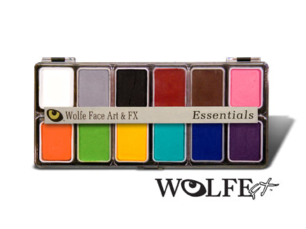 Wolfefx 12 color makeup kit