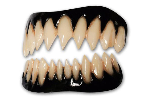 BLACK GUMMED PENNYWISE FX Fangs 2.0 by Dental Distortions