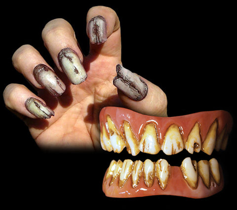 Tooth and Nail Special: Dead Fred FX Fangs and Undead Creepy Claws