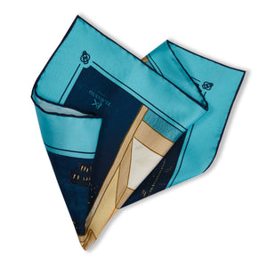 Kenji - The Elevator Pocket Square