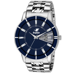 Sunday Sale Espoir Analog Blue Dial Day and Date Boy's and Men's Watch Sammy-Bahu0507