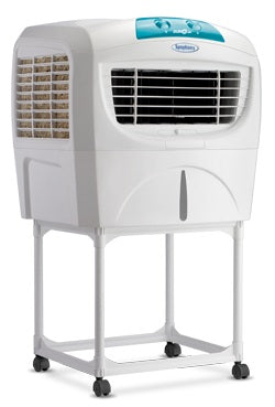 Symphony Sumo Jr. 45-Litre Air Cooler with Trolley (White)-for Medium Room
