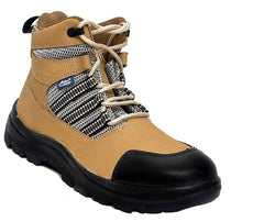 Allen Cooper AC 9006 Nubuck Leather Steel Toe Safety Shoes
