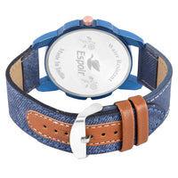 Sunday Sale Espoir Analogue Stylish Blue Dial Day and Date Men's Boy's Watch - BlueRay 0507