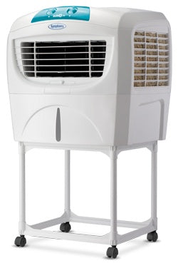 Symphony Sumo Jr. 45-Litre Air Cooler with Trolley (White)-for Medium Room - industrypurchase.com