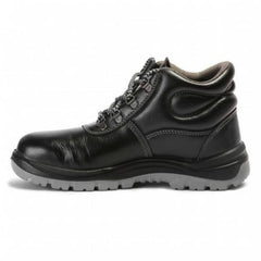 Allen Cooper AC 1008 Safety Shoes, Steel Toe Black Color