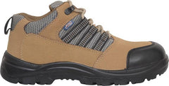 Allen Cooper AC9005 Safety Shoes Steel Toe Brown Color