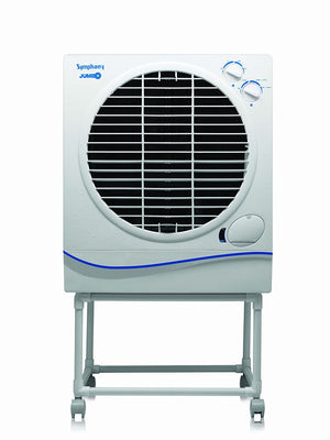 Symphony Jumbo 51-Litre Air Cooler (White)-for Large Room - industrypurchase.com