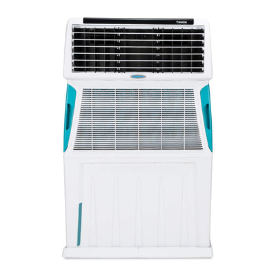 Symphony Touch 110 Litre Air Cooler (White) - with Remote Control and i-Pure Technology