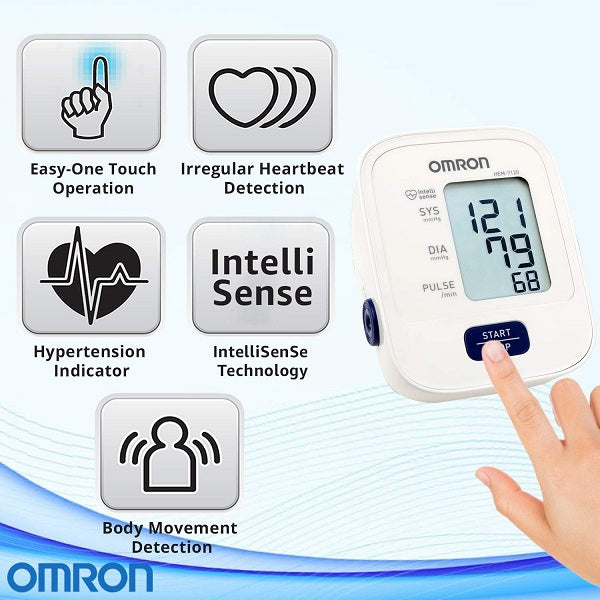 Omron Automatic Blood Pressure Monitor HEM-7120 - industrypurchase.com