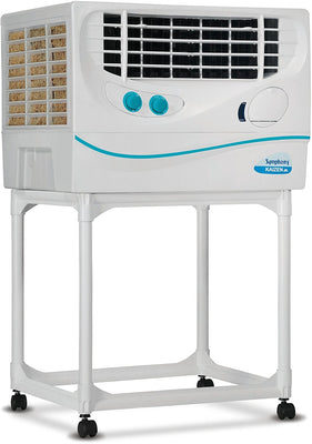 Symphony Kaizen Jr. 22-Litre Air Cooler with Trolley (White)-For small room