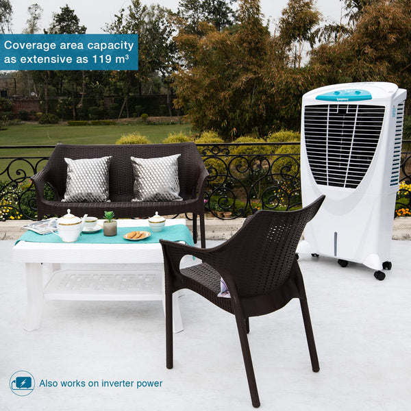 Symphony Winter XL 56 Litre Air Cooler (White) - with i-Pure Technology - industrypurchase.com