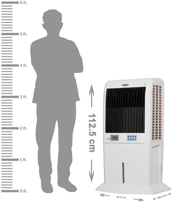 Symphony Storm 70i 70-Litre Air Cooler (White) - with Remote Control and i-Pure Technology - industrypurchase.com