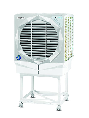 Symphony Diamond i 61 Ltrs Air Cooler (White) - with Remote Control - industrypurchase.com