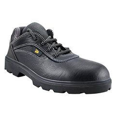 JCB Earth Mover Black Steel Toe Safety Shoes