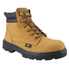 JCB Trekker Brown Steel Toe Safety Shoes