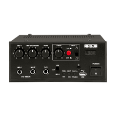 Ahuja Mobile PA Mixer Amplifiers Model-PA-400DS