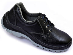 Allen Cooper AC-1054 Low Ankle Black Safety Shoes