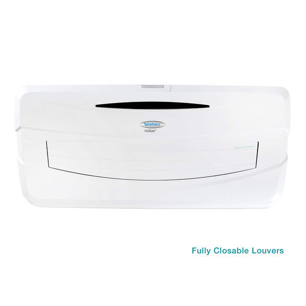 Symphony Cloud 15 Litre Room Air Cooler (White) - with Remote Control and i-Pure Technology - industrypurchase.com