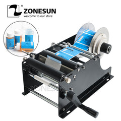ZONESUN Bottle Adhesive Sticker Label MT-30