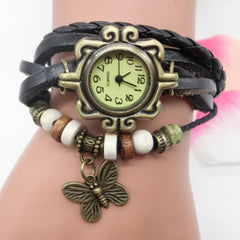 Sunday Sale Round Analog Quartz Wrist Watch - New Women Fashion