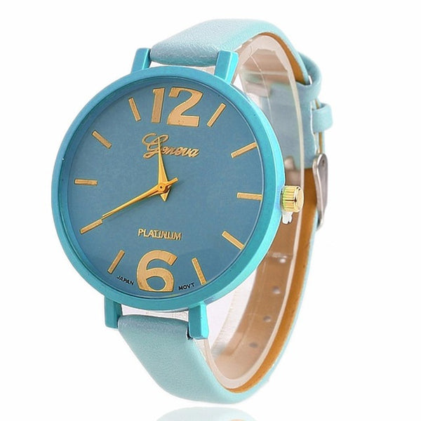 Sunday Sale Analog Quartz Wrist Watch for New Woman Fashion