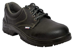 Allen Cooper AC-7001 Black Steel Toe Safety Shoes