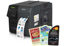 "Load image into Gallery viewer, Epson TM-C7500GE Color Label Printer (4.25"" Wide) - Jet City Label"