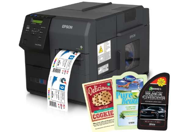 "Epson TM-C7500GE Color Label Printer (4.25"" Wide) - Jet City Label"