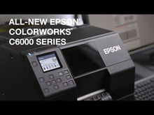 Load and play video in Gallery viewer, Epson TM-C6500A Color Label Printer and Sticker Maker Video