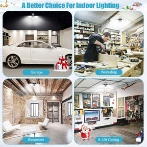 New Year Discount 50%OFF-Three Leaf Garage Light(Buy 2 Free Shipping)