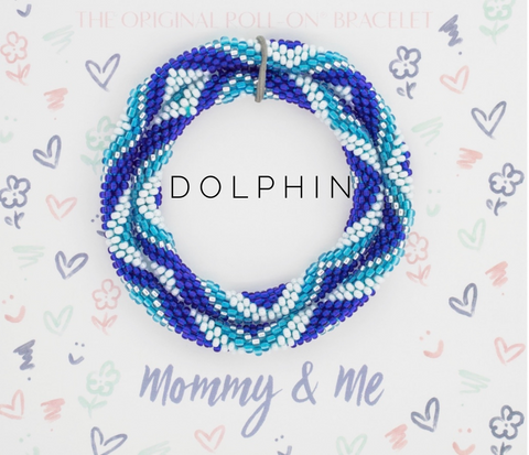 Dolphin Bracelet- Mommy and Me - The Lulu Shop LLC