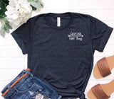 """Raising Wild Things""Tee- Small Lettering - The Lulu Shop LLC"