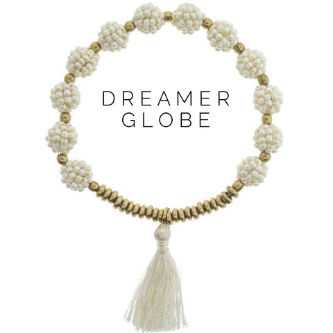 Dreamer Globe Bracelet - The Lulu Shop LLC
