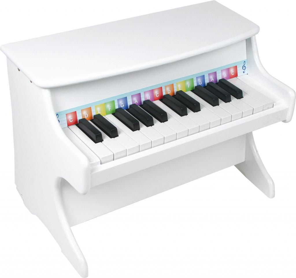 small foot Stort Piano, Hvid