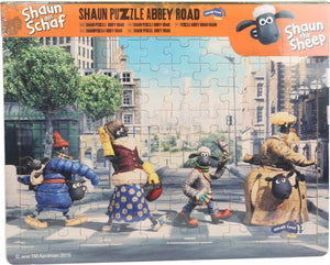 small foot Puslespil (100 brikker) Shaun the Sheep, Abbey Road