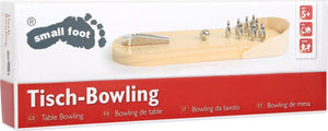 small foot Bord Bowling
