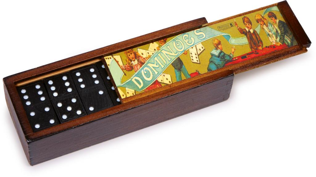 small foot Domino Spil (2 stk)
