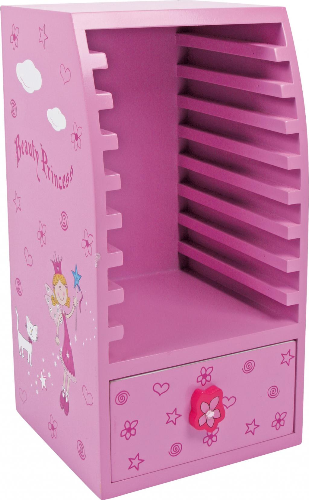small foot CD Holder, Smuk Prinsesse