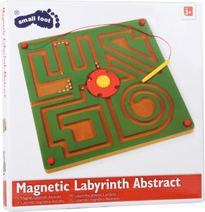 small foot Magnetisk Labyring, Abstrakt