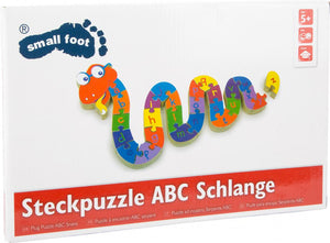 small foot Puslespil, ABC Slange