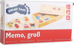 small foot Memory Spil, Stor