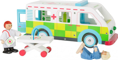 small foot, Ambulance