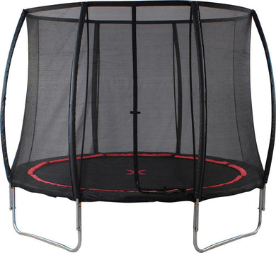 small foot Trampoline with Safety Net  Black Spider
