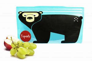 3 Sprouts Snackpose 2stk., Bear