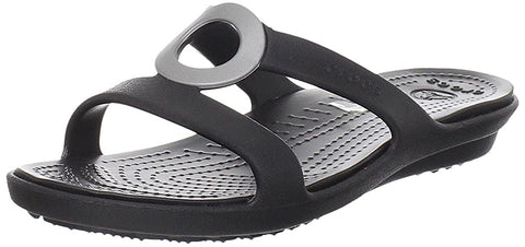 #Crocs Womens Sanrah W Black/Black - (12187 060) - F