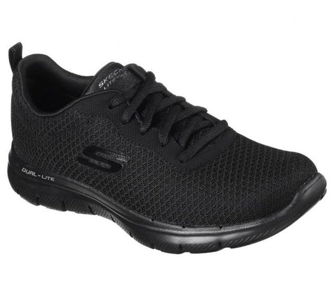 #Skechers Womens Flex Appeal 2.0 Newsmaker - (12775/BBK) - UK - R2L16