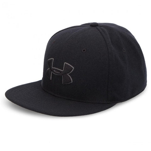 #UA Mens Huddle 2 Snapback Cap Black - (1318512 001) - F