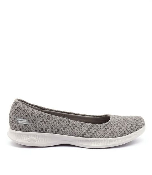 #Skechers Womens GoStep Lite Ballet - (14472/GRY) - GB - R2L16