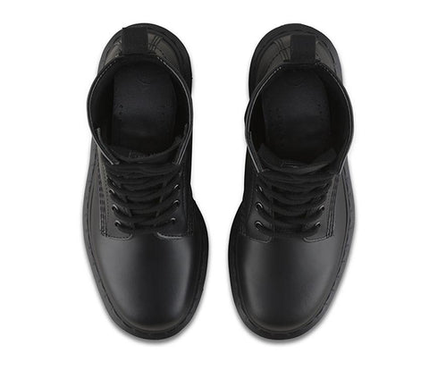 Dr Martens 1460 Mono Black 8 Eye Smooth Leather